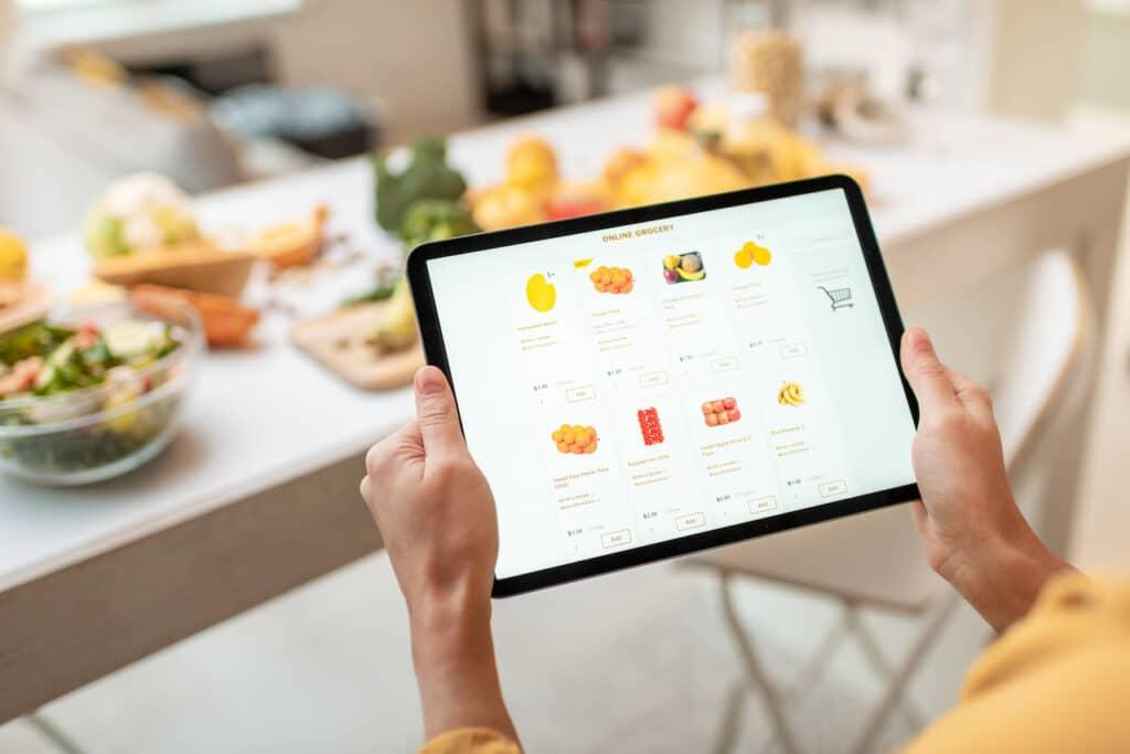 Requisitos para vender comida online en Estados Unidos