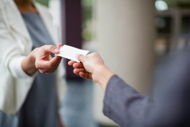 Tips para hacer tarjetas de negocios exitosas