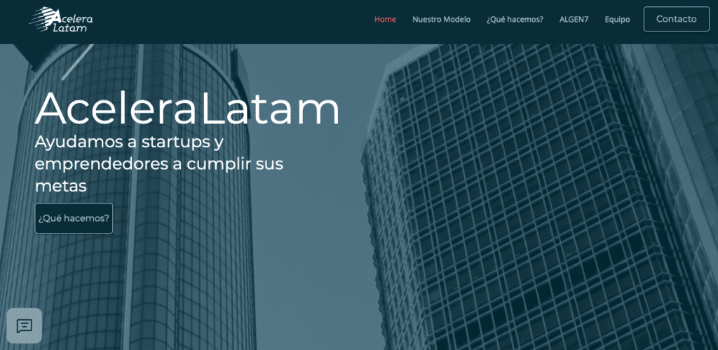 El programa ALGEN7 de AceleraLatam abre su convocatoria en Octubre.